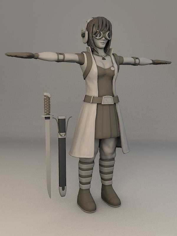 Blender Character Modeling 5 Of 10 : Character development in blender thrudreamsgate s