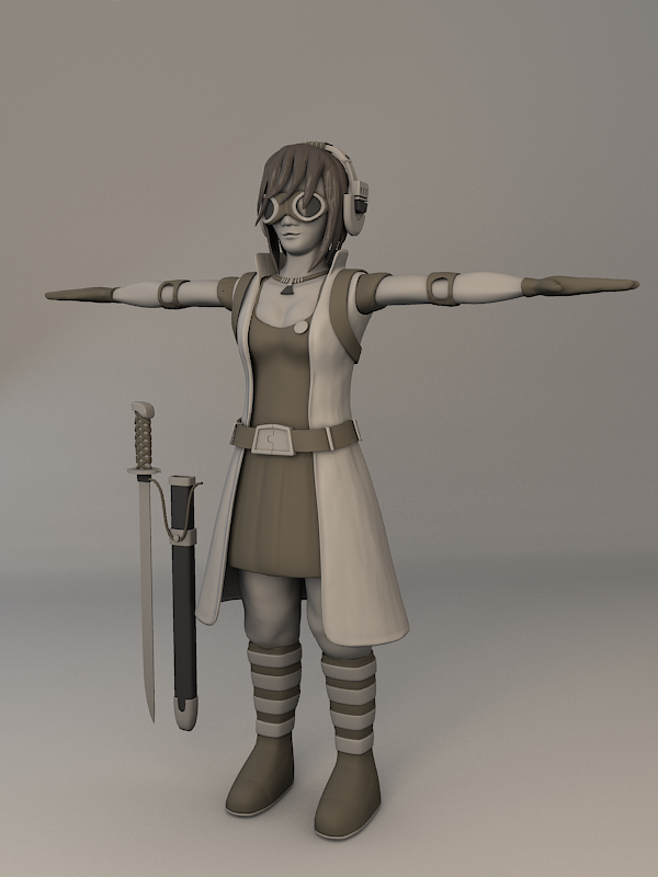 Character Modeling In Blender : Character development in blender thrudreamsgate s