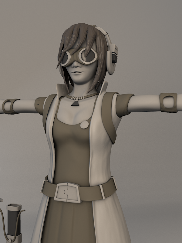 Blender Character Modeling 3 Of 10 : Character development in blender thrudreamsgate s