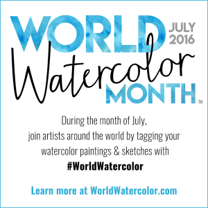 world-watercolor-month-square-badge-simple
